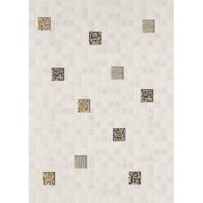 Квадро декор мозаика белый