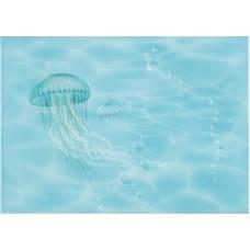 Лазурь декор медуза бирюзовый