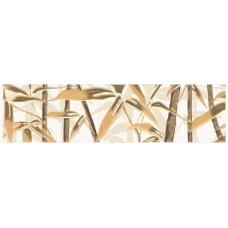Ретро бамбук  бордюр коричневый