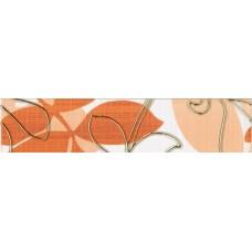 Ретро бордюр оранжевый