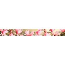 Мираж бордюр серо-розовый