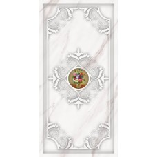 Каррара декор гармония 4 белый
