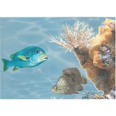 Лазурь панно морской мир 5 бирюзовый