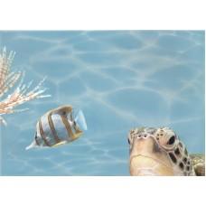 Лазурь панно морской мир 7 бирюзовый
