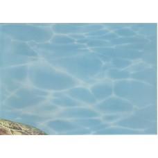 Лазурь панно морской мир 8 бирюзовый