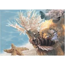 Лазурь панно морской мир 9 бирюзовый