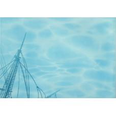 Лазурь декор корабль 2 бирюзовый
