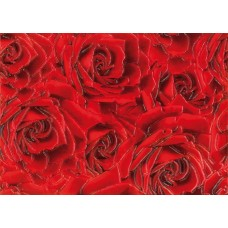 Престиж декор роза красный