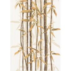 Ретро бамбук декор 2 коричневый