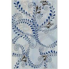 Елена каприз - декор синий
