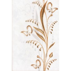 Нарцисс - декор бежевый