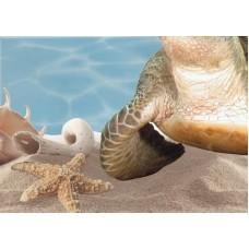 Лазурь панно морской мир 11 бирюзовый