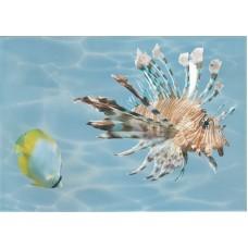 Лазурь панно морской мир 2 бирюзовый
