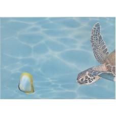 Лазурь панно морской мир 3 бирюзовый