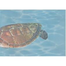 Лазурь панно морской мир 4 бирюзовый