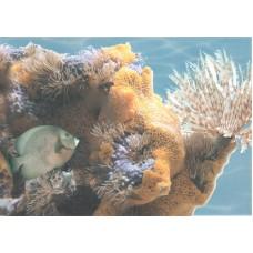Лазурь панно морской мир 6 бирюзовый